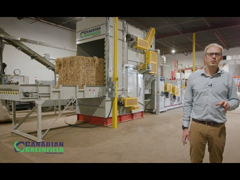 HempTrain™ Advanced Hemp Processing Plant Facility Tour | HempTrain™ Operation Demonstration