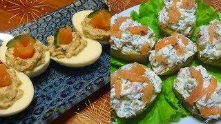 Фаршированные закуски  / Марафон 30 блюд к новогоднему столу