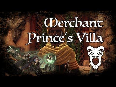 D&D Ambience - [ToA] - Merchant Prince's Villa