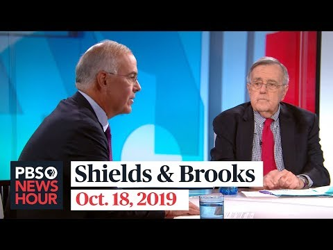 Shields and Brooks on Trumps Syria blunder, impeachment outlook