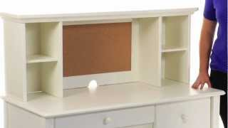 Madeline Storage Desk & Hutch