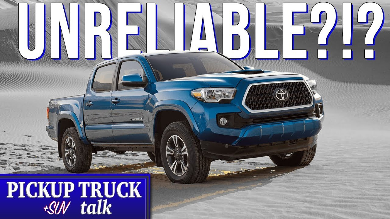 2016-2019 Toyota Tacoma Reliability Issues Explained