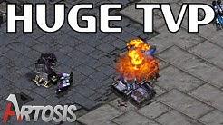 Terran vs Protoss, aka Ninja vs Rhinoceros // StarCraft