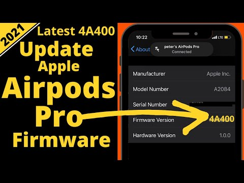 How To Update Airpods Pro Firmware Install Latest Software 2020
