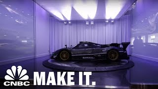 This Exotic Car Dealer Will Do Anything To Wow His Clients | CNBC Make It.