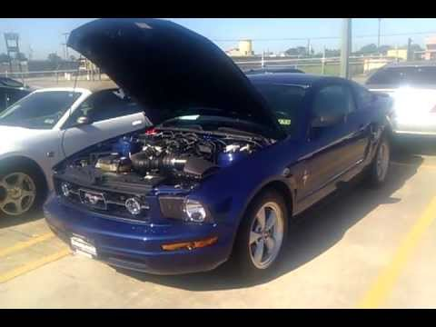 2007 ford mustang v6 premium coupe youtube 2007 ford mustang v6 premium coupe publicscrutiny Image collections