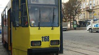 видео Рух трамваїв вулицею Замостянською відновили