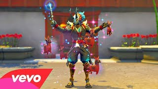 Fortnite Dances BUT They Are Remixed..! (Taro Skin in-Game!)