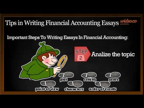 Tips In Writing Financial Accounting Essays  By Wideoco  Youtube Tips In Writing Financial Accounting Essays  By Wideoco Protein Synthesis Essay also Thesis Example Essay  Essay On Cow In English