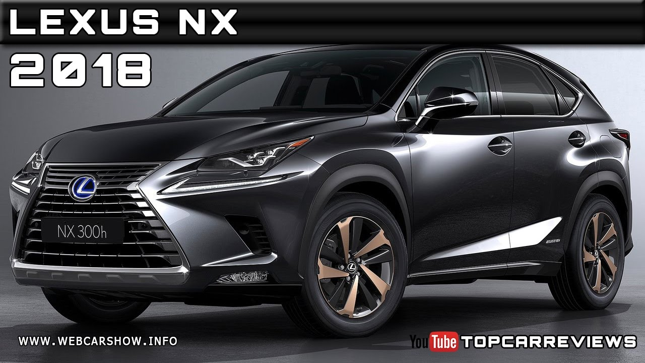 2018 Lexus Nx Review Rendered Price Specs Release Date Youtube