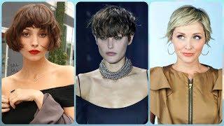 Najmodniejsze pomysły na modne krótkie fryzury damskie z grzywką