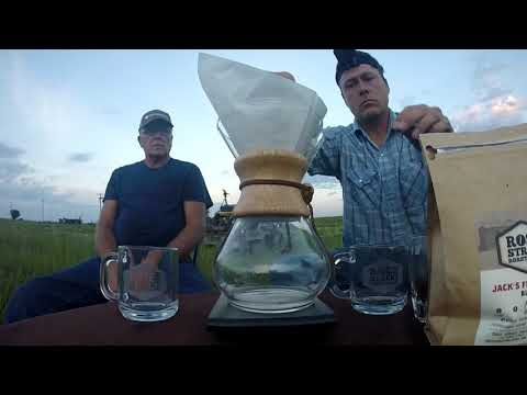 These farmers drink coffee til the cows come home