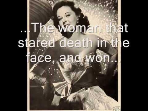 "Tribute to Susan Hayward - the ""human goddess"""