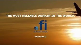 .FI - the most reliable domain name in the world