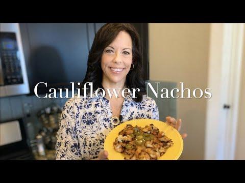 One-Pan Loaded Cauliflower Nachos