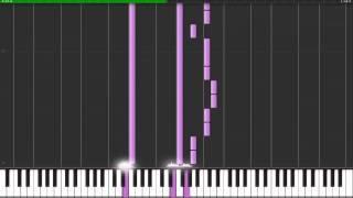 THE XX INTRO-SYNTHESIA PIANO