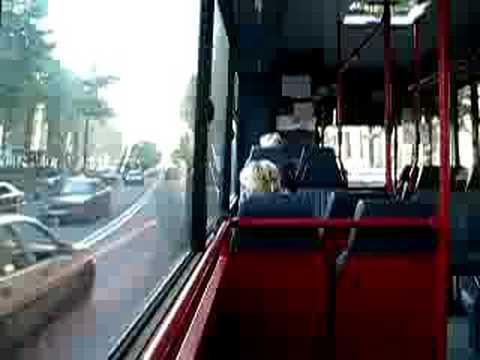ex-Nederlandse Bus in Tbilisi, Georgië