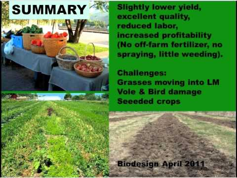 Reduced Tillage in Organic Vegetable Production Webinar