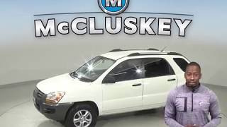 C99978RP Used 2008 Kia Sportage LX 4WD SUV Test Drive, Review, For Sale -