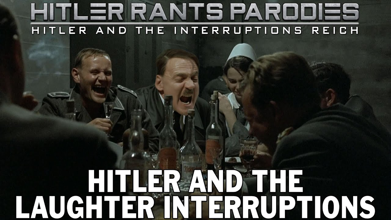 Hitler and the laughter interruptions