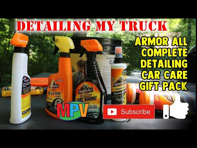 Demonstration - Armor All Complete Detailing Car Care Gift Pack (7.14.19) #1267