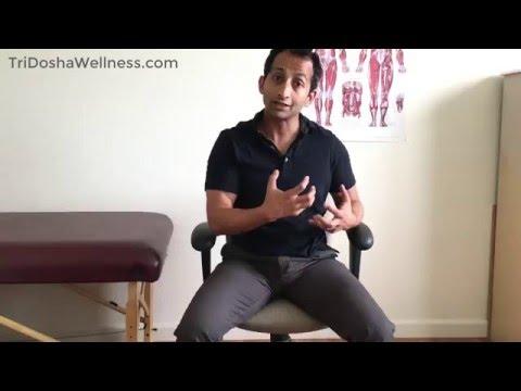 Quadratus Lumborum Stretch For Back Pain Relief | Manu Kalia | Video 189 | TridoshaWellness