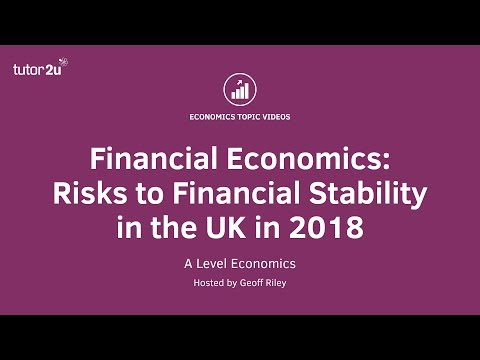 Financial Economics: Risks to Financial Stability in the UK Economy
