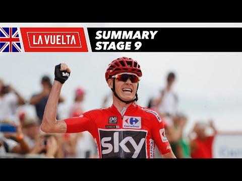 Summary - Stage 9 - La Vuelta 2017