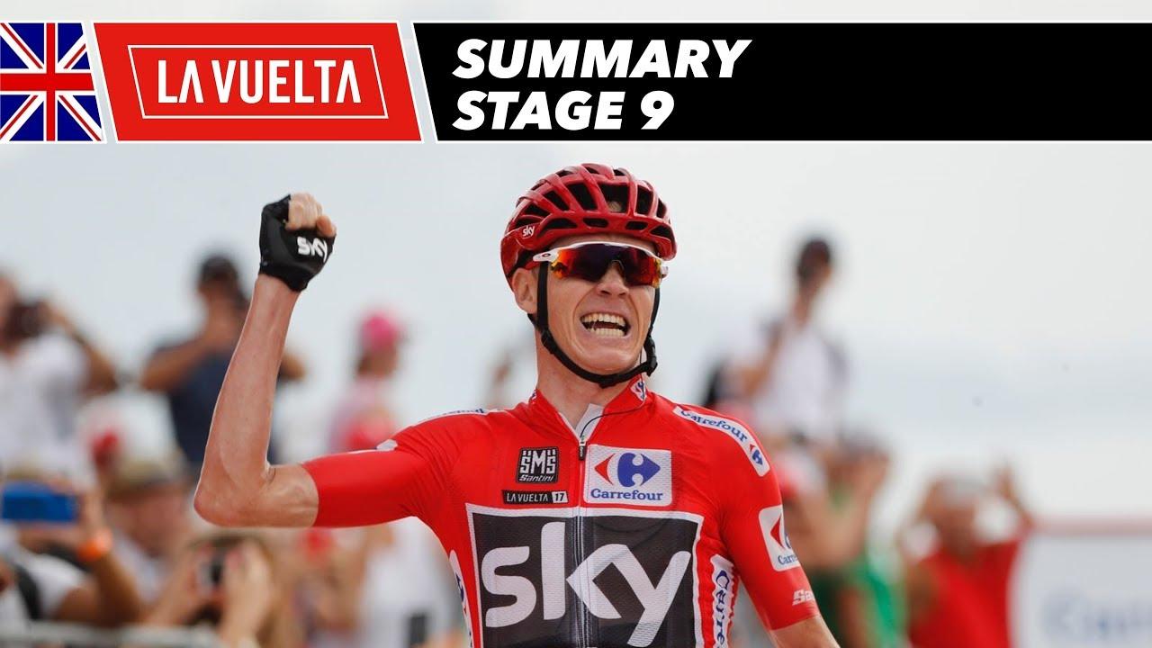 Summary Stage 9 La Vuelta 2017 Youtube