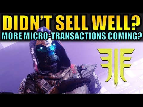 Activision thinks Destiny 2: Forsaken Didn't Sell Well? – More Micro-transactions Coming?