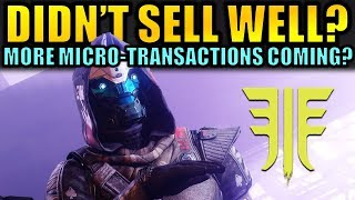 Activision thinks Destiny 2: Forsaken Didn't Sell Well? - More Micro-transactions Coming?