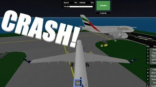 Crash! | SFS Flight Simulator | Roblox
