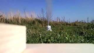 Test silnika rakietowego klasy I ( 2 próba )
