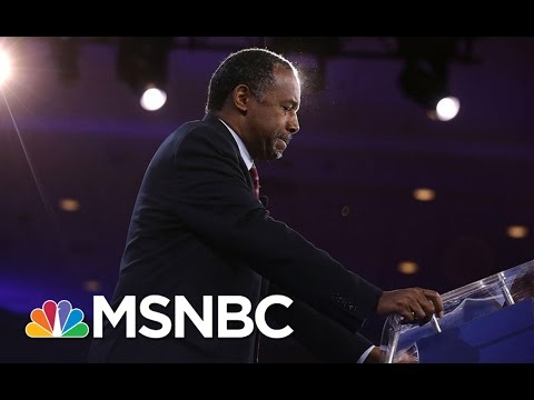 Former Presidential Candidate Dr. Ben Carson on Uniting GOP Around Trump | MSNBC