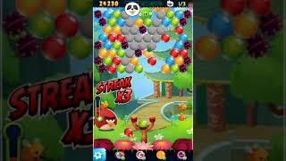 Angry Birds Stella Pop Level-2596 Non PowerUp Walkthrough For Android & iOS