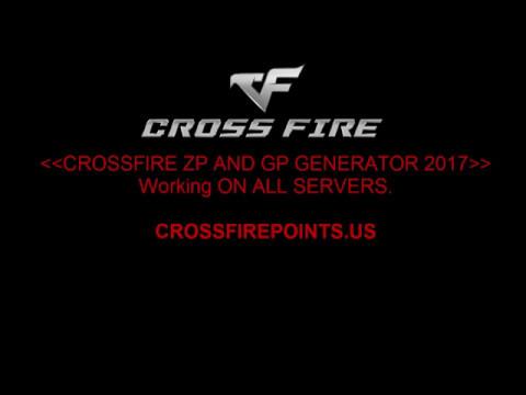 Crossfire ZP AND GP HACK 2017 - FREE ZP GENERATOR