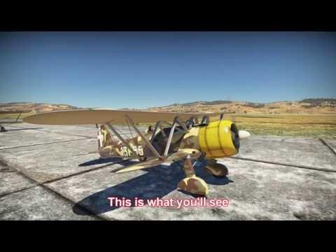 War Thunder: Fiat cr42 (audi parody)