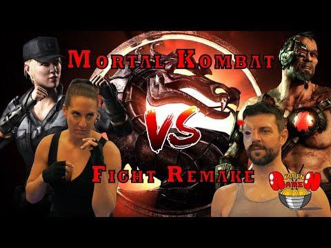 Mortal Kombat: Sonya vs. Kano Fight Remake