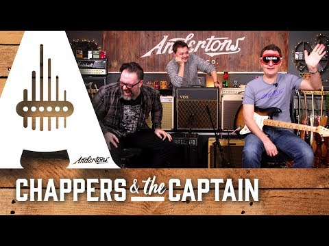 4 Valve Amps, 1 Non Valve Amp, and a Blindfold Challenge! - Andertons Music Co.