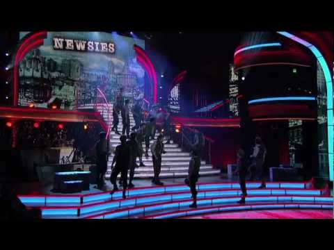 "Broadway's NEWSIES on  ABC's ""Dancing with the Stars: All-Stars"""