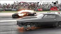 Kye Kelley AfterShock vs Monza twin turbo Camaro No Prep…