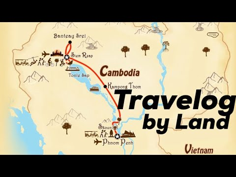 Travelog Siem Reap to Phnom Penh (via Giant Ibis Bus Lines)