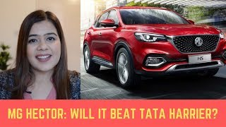 MG Hector Price, Launch Date & Features EXPLAINED in 4 MINUTES