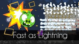 Bad Piggies - FAST AS LIGHTNING (Field of Dreams) - 100 x Engines