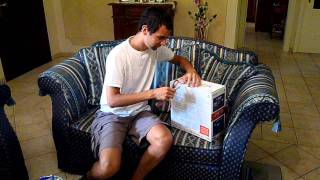 Unboxing Sony Playstation 3 (PS3) Slim 160GB