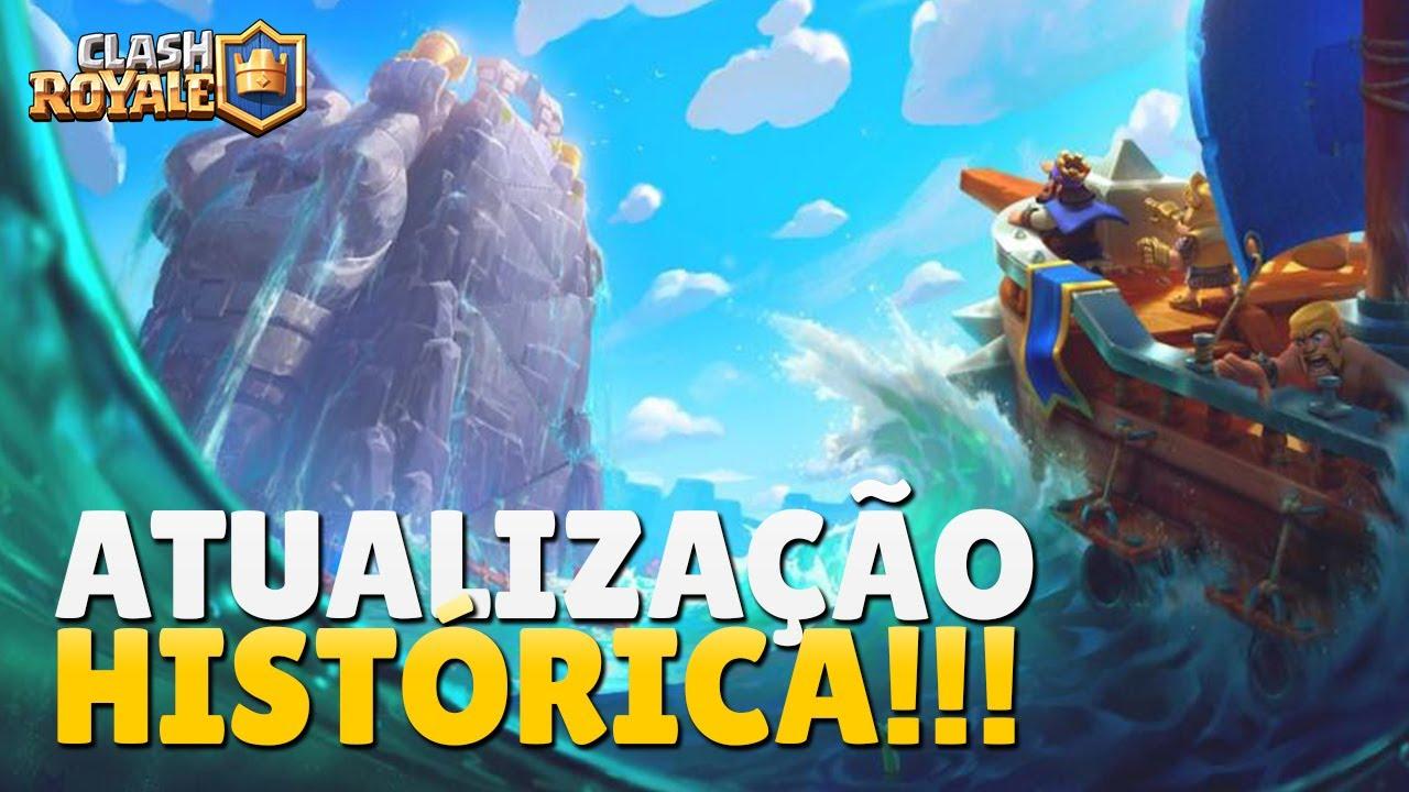 MAIOR ATUALIZAÇÃO DA HISTÓRIA NO CLASH ROYALE!!!