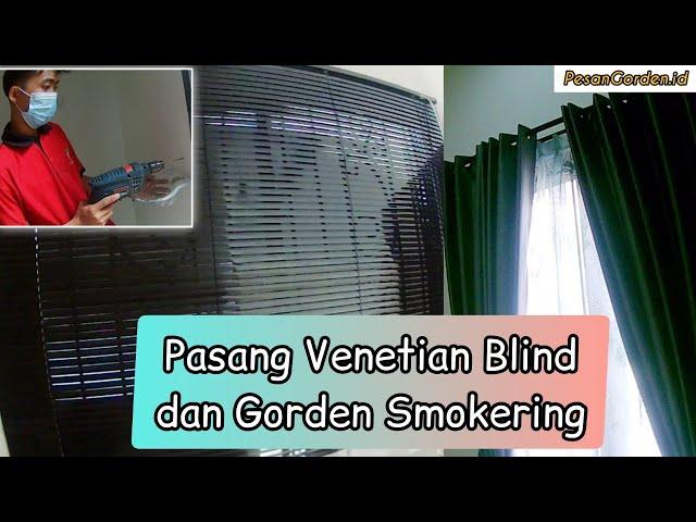 PASANG GORDEN SMOKERING BAHAN BLACKOUT | PesanGorden.id