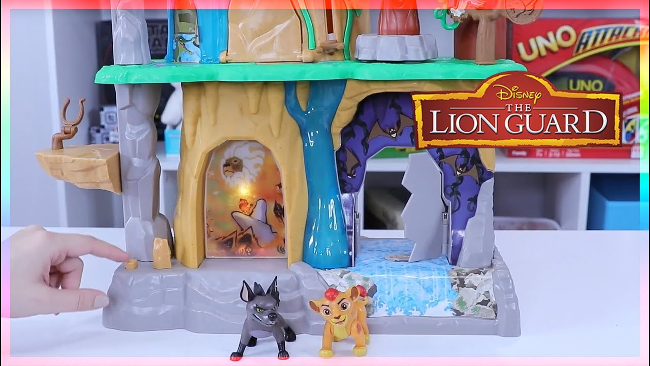 Disney Learning Toy The Lion Guard Training Lair Play Set