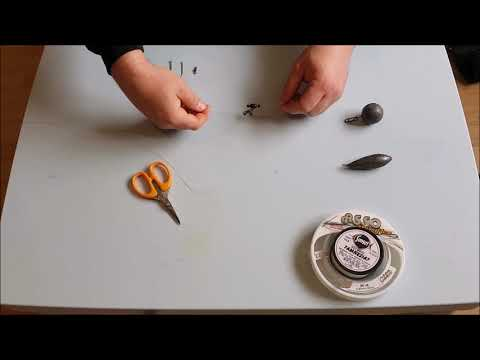 How To Tie An Up And Over Pulley, Sea Fishing Rig - Great For Rays And Smoothhound