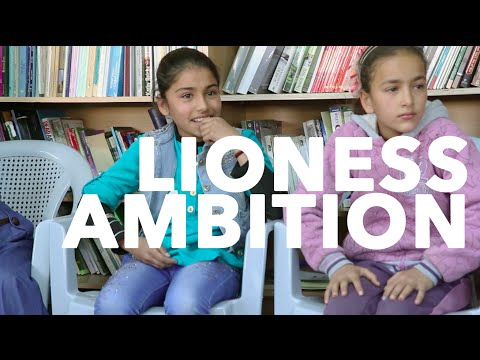 Syrian Girls and Lioness Ambition   Space Camp Day 19 [CC]